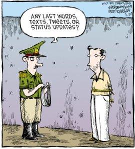 Social Media Facebook Twitter Cartoon
