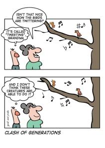 Twitter Generation Gap
