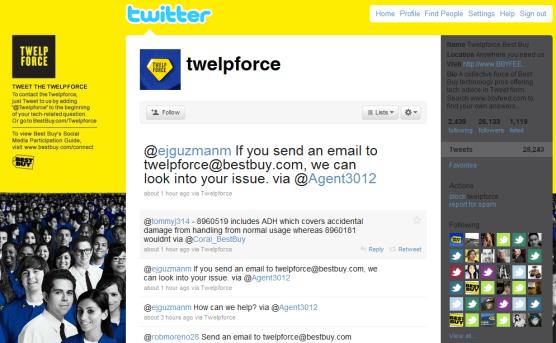 Best Buy Blog Social Media Channel Geek Force