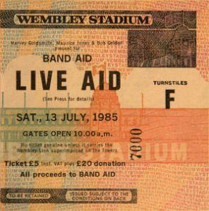 Bob Geldof Live Aid