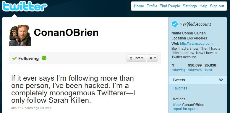 5 Reasons Why Conan O'Brien Loves Twitter