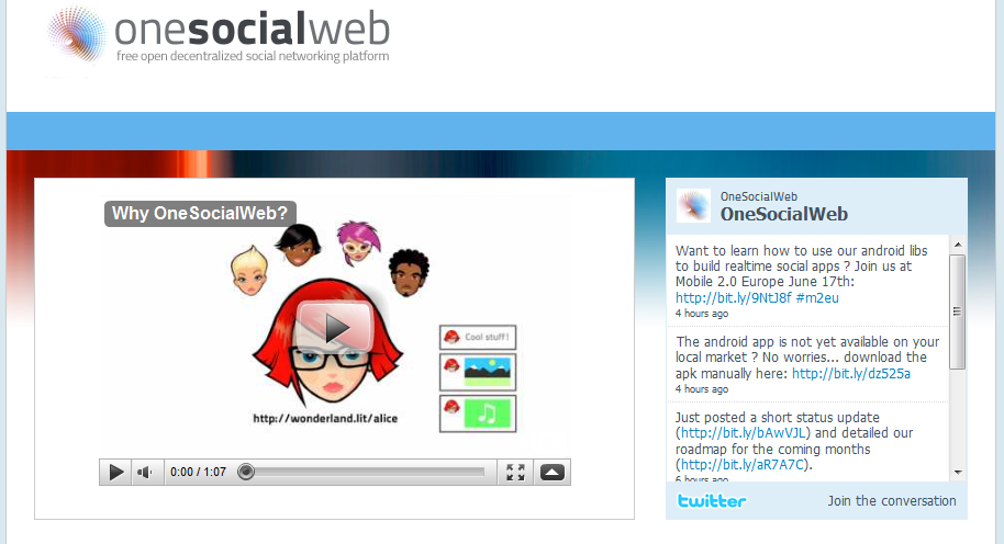Facebook Competitor One SocialWeb