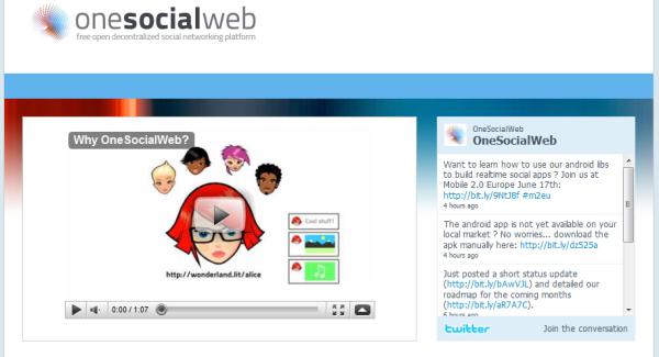 Facebook Competitor One SocialWeb