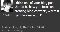 10 ways to be inspired to write and develop content for your blog