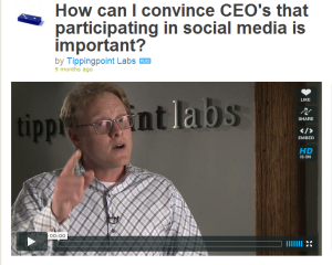 How To Convince A CEO That Social Media Marketing Is Vital